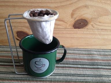 O preparo de monodose, com acessórios Grão Gourmet